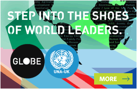 Step into the shoes of world leaders