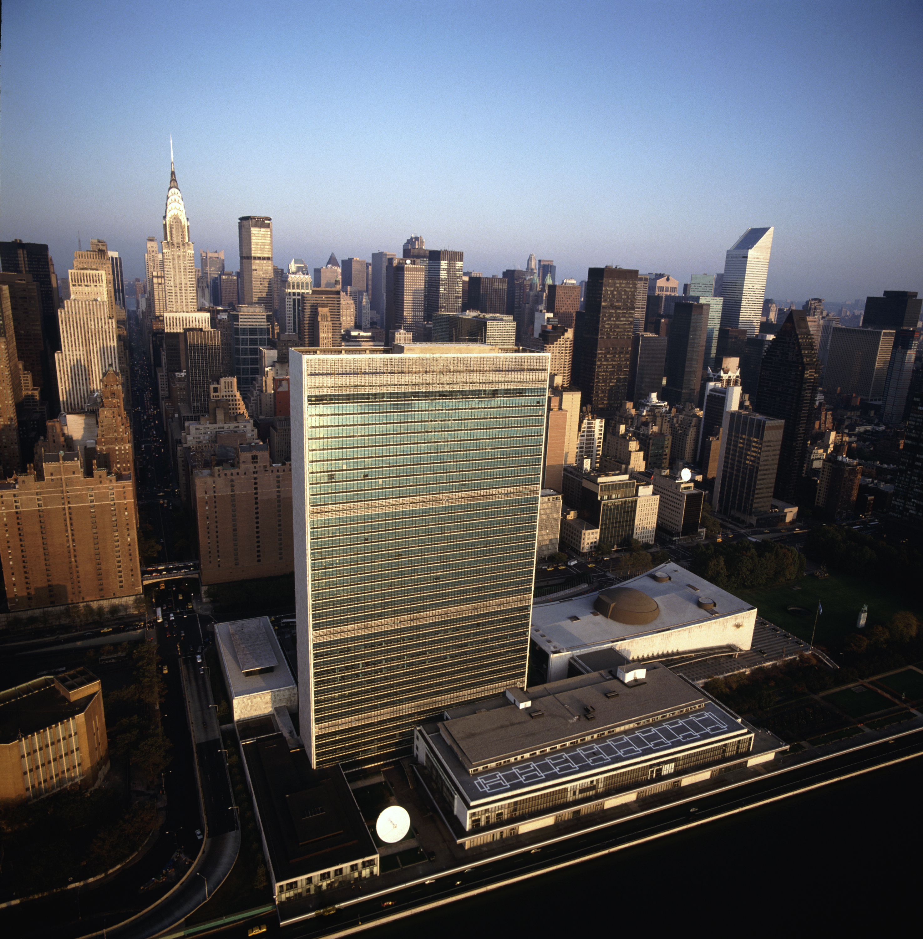 The UN Headquarters in New York