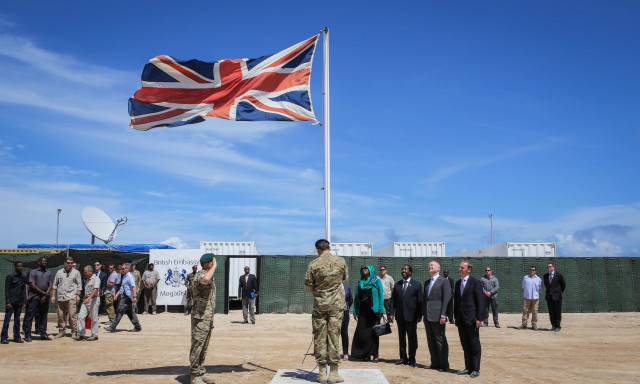Opening of New British Embassy in Mogadishu