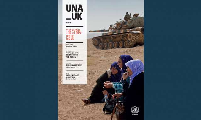 The Syria Issue Una Uk