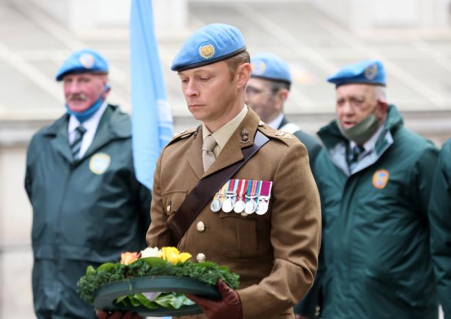 Lt Col Simon Briggs, Royal Artillery (MONUSCO, 2020-21); Irish UN Veterans