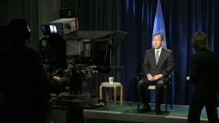 Secretary-General Records Video Message
