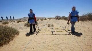 UNOPS Contracts Specialists to Eliminate Mines in Western Sahara