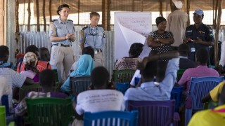 UNMISS provides training to combat gender violence