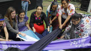 Tlalmanalli Ð indigenous ceremony opens Generation Equality Forum in Mexico.